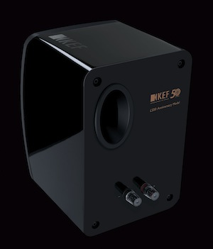 KEF LS50 Mini Monitor - Back