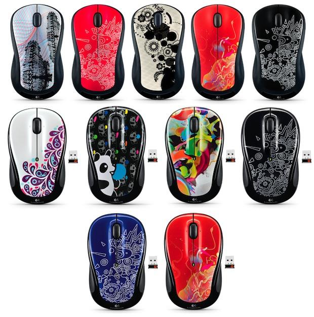 Logitech Global Graffiti Collection Wireless Mouse