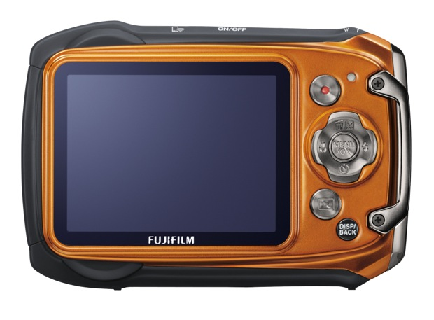 FujiFilm FinePix XP170 Waterproof Digital Camera - Orange Back