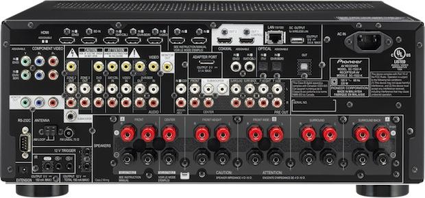 Pioneer SC-1522 - Back