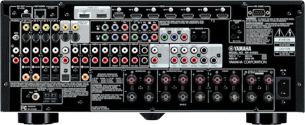 Yamaha RX-A1020 AVENTAGE A/V Receiver - Back