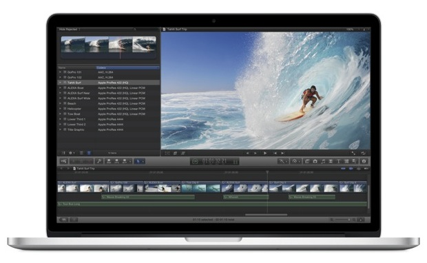 Apple MacBook Pro with Retina Display - Front