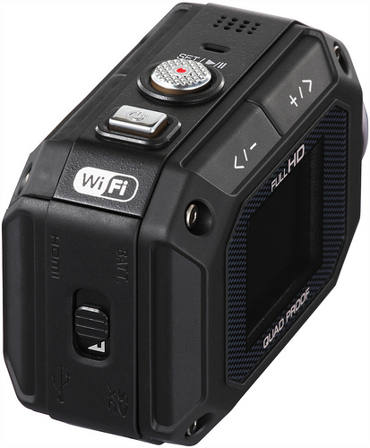 JVC GC-XA1 ADIXXION Rugged HD Camcorder