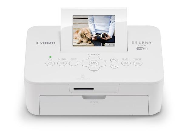 Canon SELPHY CP900 Wireless Photo Printer - White