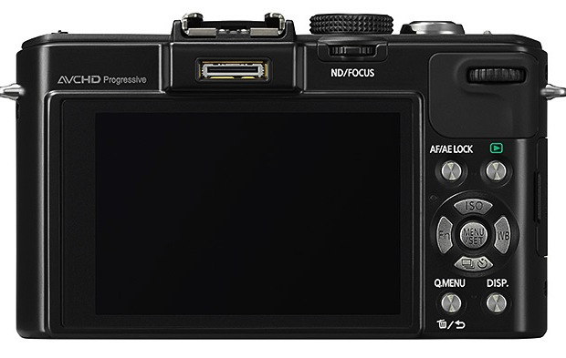 Panasonic DMC-LX7 Lumix Digital Camera - Back