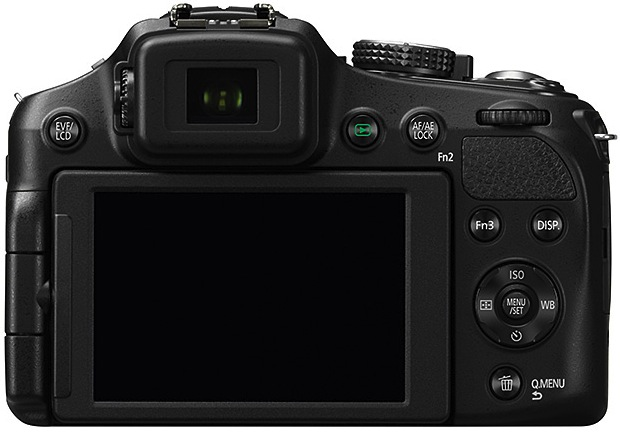 Panasonic DMC-FZ200 Lumix Super-Zoom Digital Camera - Back