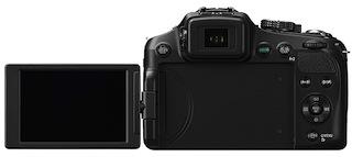 Panasonic DMC-FZ200 Lumix Super-Zoom Digital Camera - Back Open