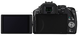 Panasonic DMC-G5 Lumix Micro Four Thirds Digital Camera - Back LCD