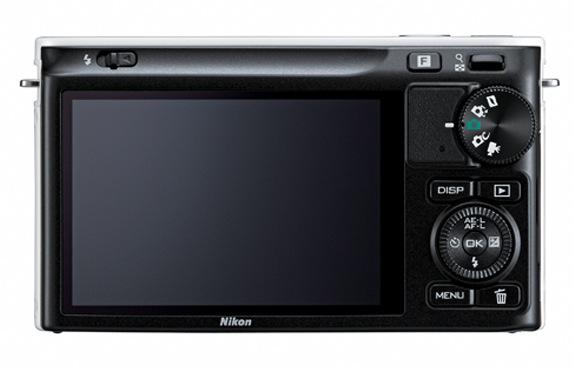 Nikon 1 J2 - Back