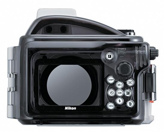 Nikon WP-N1 underwater case - back