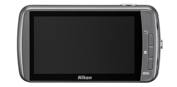 Nikon COOLPIX S800c Wi-Fi Digital Camera - Back