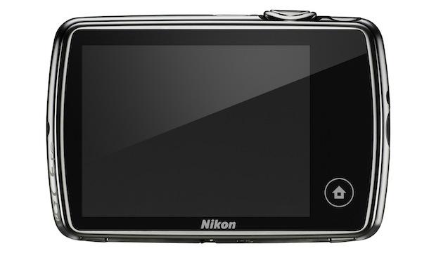 Nikon COOLPIX S01 Digital Camera - Back