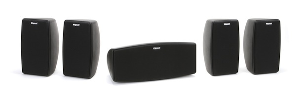 Klipsch Quintet Home Theater Speaker System with Grilles