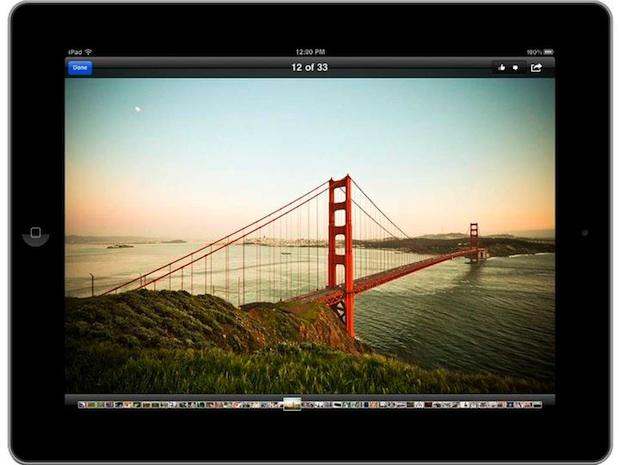 Facebook iPad App - photo
