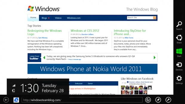 Windows 8 Charms