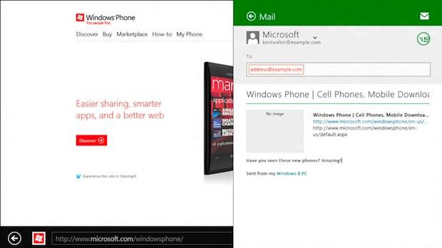 Windows 8 Share