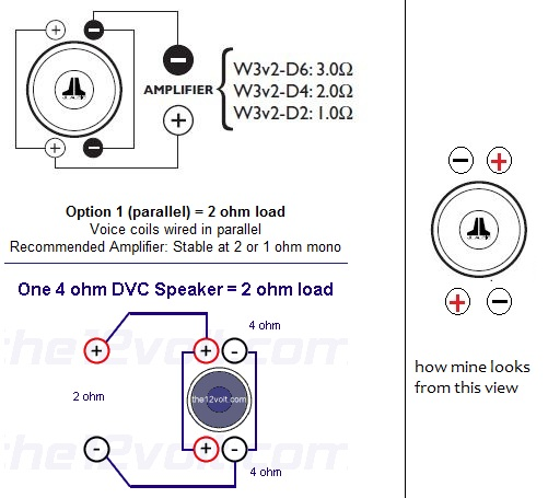 Ohm Speaker Wiring Diagram Rockford Sub on