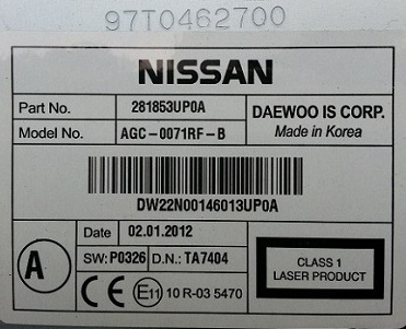Lost car radio codes can be retrieved by your serial number here