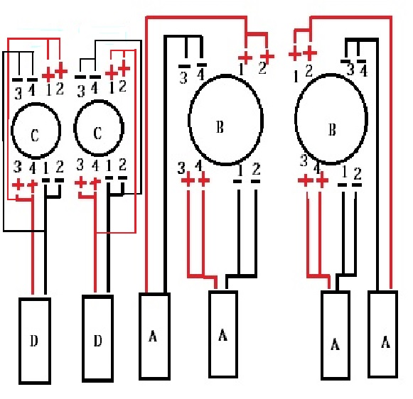 audiobahn immortal setup with two immortal 12s and 2 immortal 15s rh ecoustics com audiobahn aw1051t wiring diagram audiobahn aw1206t wiring diagram