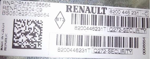 Please help Renault radio code - ecoustics com