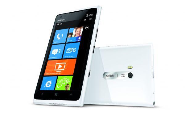 Nokia Lumia 900 Windows 4G LTE Smartphone - White