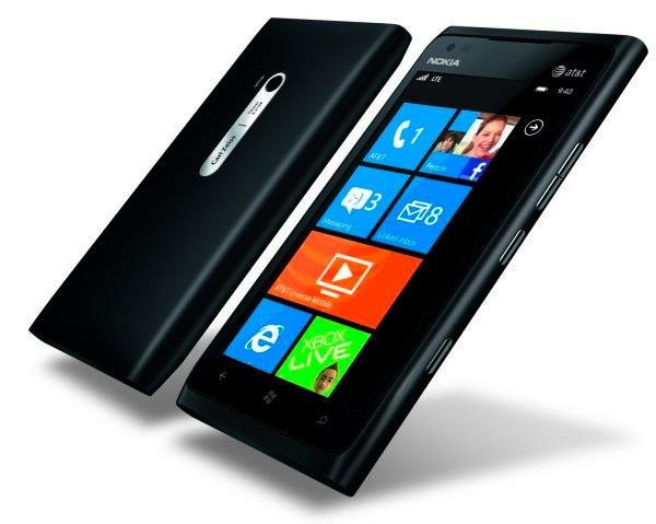 Nokia Lumia 900 Windows 4G LTE Smartphone - Matte Black