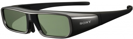 3D TV Active Shutter Glasses