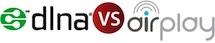 DLNA vs AirPlay