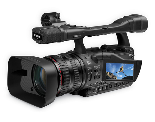 canon xh a1s and xh g1s hd camcorders announced