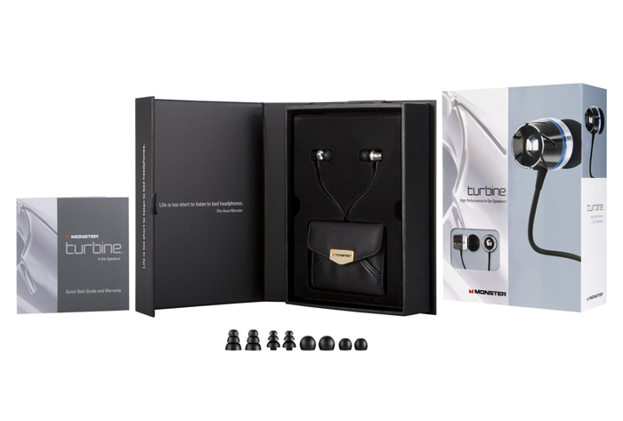 Monster Turbine Headphones Box