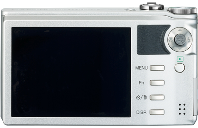 Ricoh CX1 Digital Camera - Back in Silver