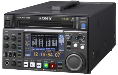 Sony PDW-F1600 Deck
