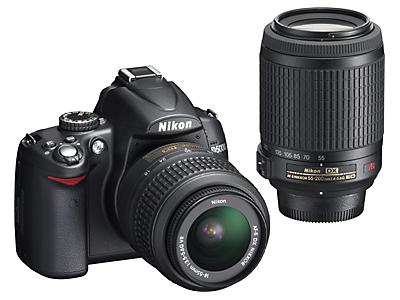 Nikon D5000 Digital SLR Camera and Lens