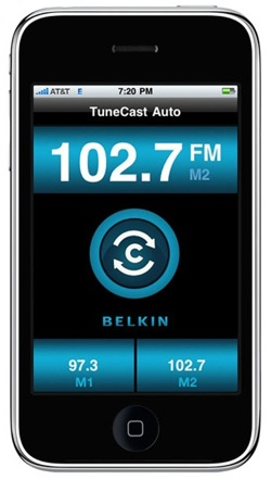 Belkin ClearScan Live on iPhone