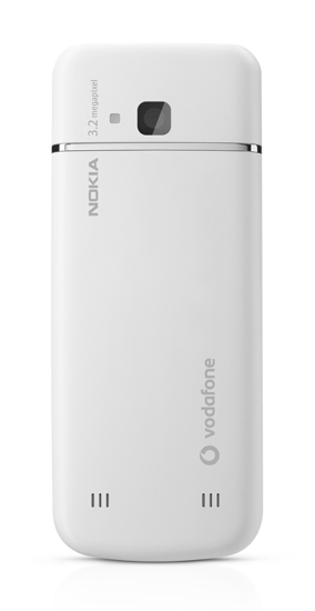 Nokia 6730 classic - back