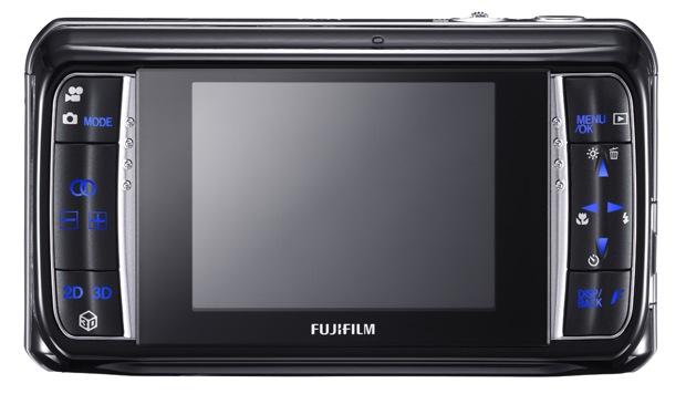 Fujifilm FinePix REAL 3D W1 Digital Camera - Back