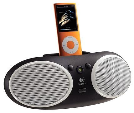 Logitech Portable Speaker S125i iPod Dock