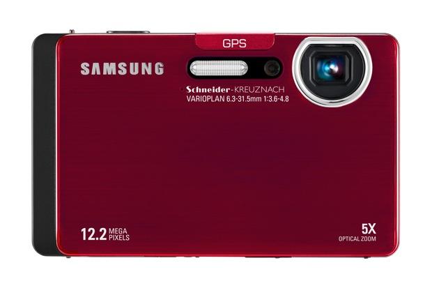 Samsung CL65 Digital Camera - Red