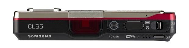 Samsung CL65 Digital Camera - Top View