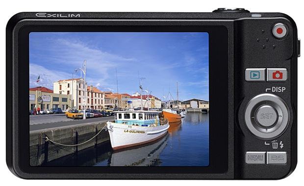 Casio EXILIM EX-Z90 Digital Camera - Back