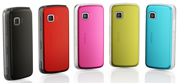 Nokia 5230 Cell Phone - colors