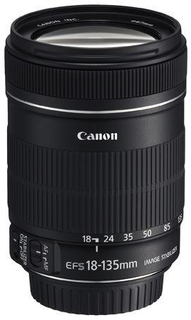 EF-S 18-135mm f/3.5-5.6 IS lens