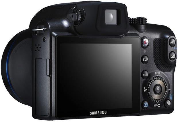 Samsung HZ25W Digital Camera - Back