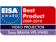 Sony 2009-2010 EISA Award