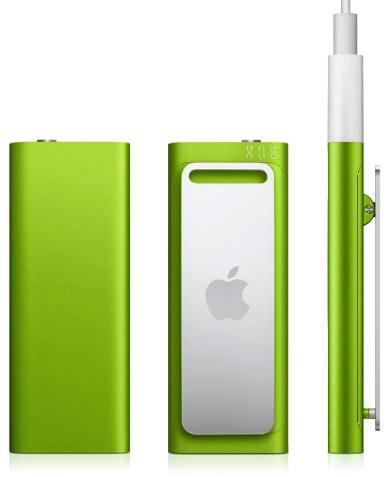 Apple iPod shuffle green