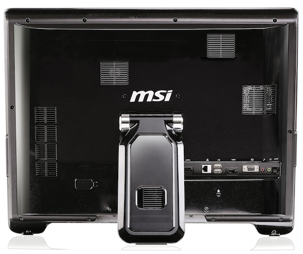 MSI AE2200 Wind Top All-in-One PC - Back