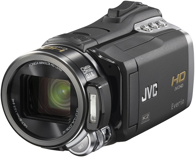 JVC HD Everio GZ-HM400 Camcorder