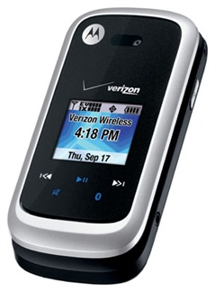 Motorola Entice W766 Cell Phone - Angle