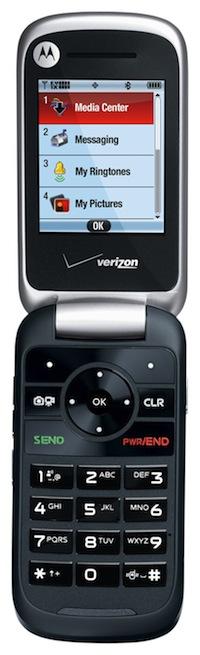 Motorola Entice W766 Cell Phone - Open