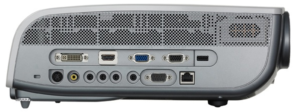 Canon REALiS SX80 Mark II Multimedia LCOS Projector - Side